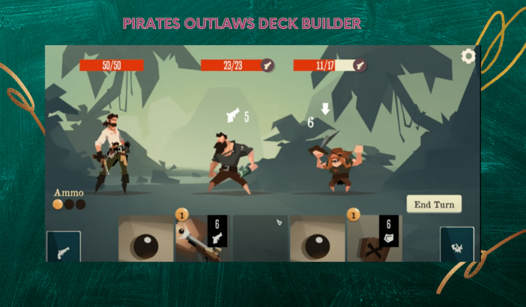 Pirates Outlaws Deck Builder