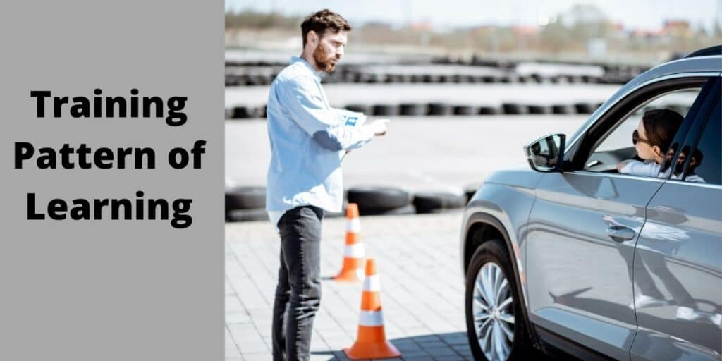 Training Pattern of Car driving